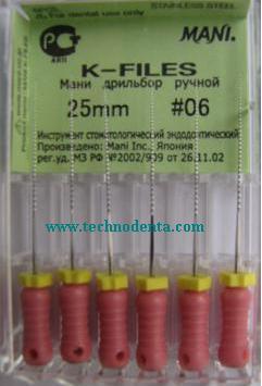 K-File MANI 6/25mm