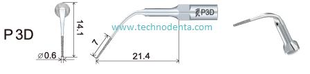 връхче за пиезон P3D