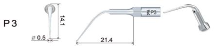 Връхче за пиезон PD3