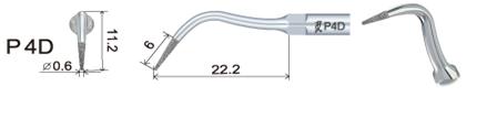 накрайник за пиезон PD4D
