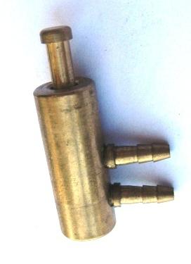 Пневматичен клапан за държател за инструменти